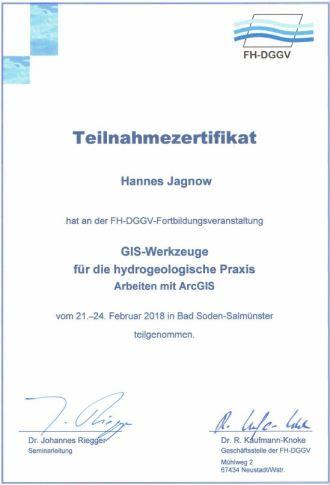 Zertifikat ARCGIS